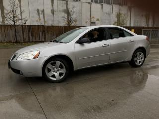 Used 2007 Pontiac G6 4 Door, Automatic, 3 Years warranty available for sale in Toronto, ON