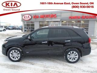 Used 2015 Kia Sorento EX AWD V6  - Leather Seats -  Heated Seats for sale in Owen Sound, ON
