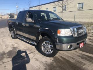 Used 2007 Ford F-150 4X4, 4 DOOR, 3/Y warranty avail for sale in Toronto, ON