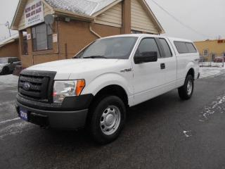 Used 2010 Ford F-150 XL 4X4 Extended Cab 6.5Ft Box 4.6L Certified 126Km for sale in Rexdale, ON