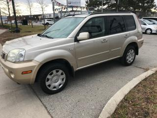 Used 2006 Nissan X-Trail AWD,NO ACCIDENT,187K,SAFETY+3YEARS WARRANTY INCLUD for sale in Toronto, ON