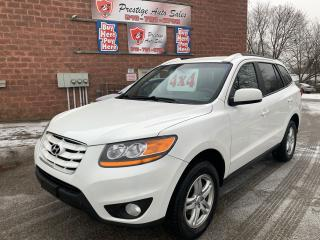 Used 2010 Hyundai Santa Fe GL/4WD/NO ACCIDENT/CERTIFIED/WARRANTY INCLUDED for sale in Cambridge, ON
