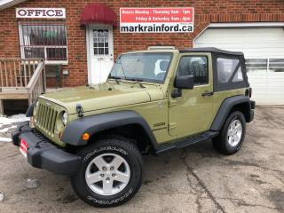 Used 2013 Jeep Wrangler SPORT for sale in Bowmanville, ON