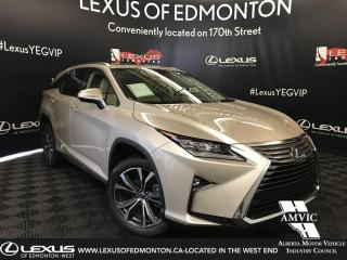New 2019 Lexus RX 350 L Luxury Package 6 Passenger for sale in Edmonton, AB