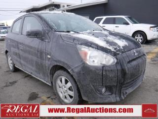 Used 2014 Mitsubishi Mirage SE 4D Hatchback for sale in Calgary, AB