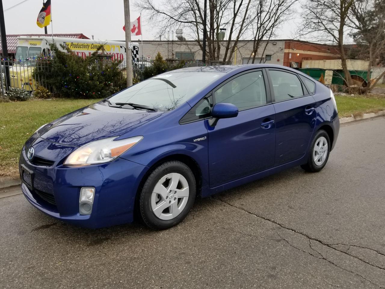 Photo of Blue 2010 Toyota Prius