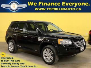 Used 2010 Land Rover LR2 HSE with Dual Sunroof, 1 Owner for sale in Vaughan, ON
