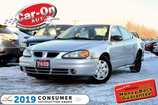 Used 2003 Pontiac Grand Am SE1 A/C CRUISE PWR GRP for sale in Ottawa, ON
