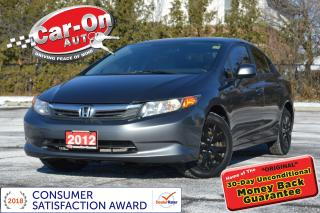 Used 2012 Honda Civic A/C CRUISE POWER GRP BLUETOOTH for sale in Ottawa, ON
