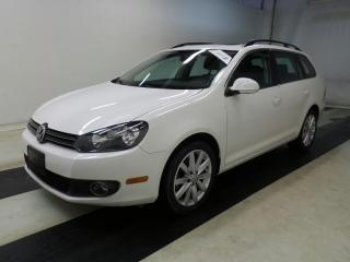 Used 2012 Volkswagen Golf Wagon TDI | HIGHLINE | NAVIGATION | LEATHER | SUNROOF | HTD SEATS for sale in Mississauga, ON