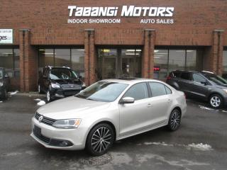Used 2013 Volkswagen Jetta TDI   HIGHLINE   NO ACCIDENT  NAVIGATION   LEATHER   SUNROOF for sale in Mississauga, ON