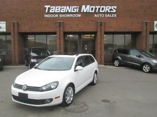 Used 2012 Volkswagen Golf Wagon HIGHLINE | NAVIGATION  | LEATHER | SUNROOF | HEATED SEATS for sale in Mississauga, ON
