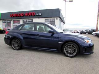 Used 2013 Subaru Impreza WRX WRX 5 SPEED AWD MANUAL BLUETOOTH CERTIFIED for sale in Milton, ON