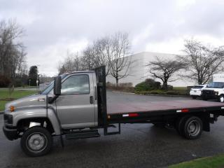 Used 2008 GMC C5500 Flat Deck 17.6 Feet 3 passenger Power Tail Gate for sale in Burnaby, BC