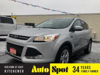 Used 2016 Ford Escape SE/PRICED FOR A QUICK SALE! for sale in Kitchener, ON