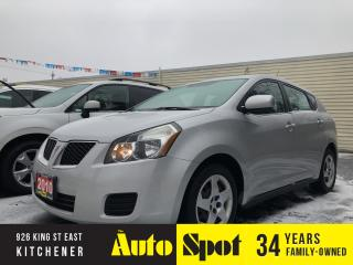 Used 2010 Pontiac Vibe LOW, LOW KMS/PRICED -QUICK SALE! for sale in Kitchener, ON