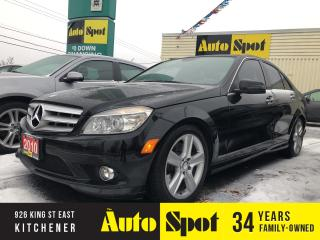 Used 2010 Mercedes-Benz C-Class 300/AWD/LOW,LOW KMS/PRICED - QUICK SALE! for sale in Kitchener, ON