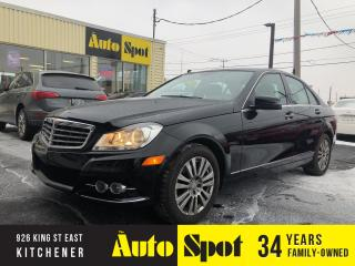 Used 2012 Mercedes-Benz C-Class 250/4MATIC/LOW,LOW KMS/PRICED-QUICK SALE! for sale in Kitchener, ON