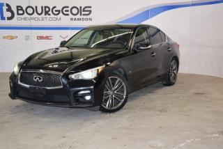 Used 2014 Infiniti Q50 Awd, T.ouvrant for sale in Rawdon, QC