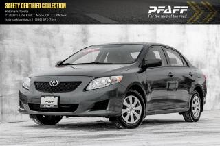 Used 2010 Toyota Corolla 4-door Sedan CE 4A for sale in Orangeville, ON