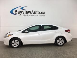 Used 2017 Kia Forte LX - HTD SEATS! A/C! BLUETOOTH! ADAPTIVE CRUISE! for sale in Belleville, ON