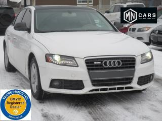 Used 2009 Audi A4 2.0 T | NAV | BACKUP CAM for sale in Ottawa, ON