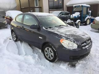 Used 2008 Hyundai Accent Hayon 3 portes, boîte manuelle, L for sale in Valcourt, QC