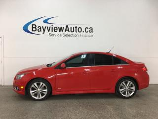 Used 2014 Chevrolet Cruze 2LT - ONSTAR! MY LINK! HTD LTHR! SUNROOF! PIONEER SOUND SYSTEM! for sale in Belleville, ON