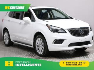 Used 2017 Buick Envision PREMIUM I AWD CUIR for sale in St-Léonard, QC
