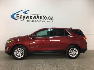 Used 2018 Chevrolet Equinox LT - RCTA! MYLINK! ONSTAR! WIFI! REVERSE CAM! HTD SEATS! for sale in Belleville, ON