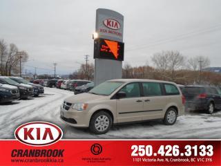 Used 2015 Dodge Grand Caravan SE/SXT for sale in Cranbrook, BC