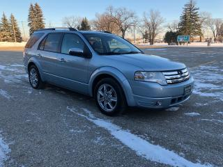 Used 2008 Ford Taurus X Limited Alloys/New Tires/ LIMITED Leather heated seats and sunroof! for sale in Winnipeg, MB
