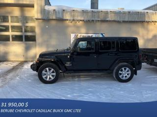 Used 2013 Jeep Wrangler 4 Dr Sahara for sale in Rivière-Du-Loup, QC