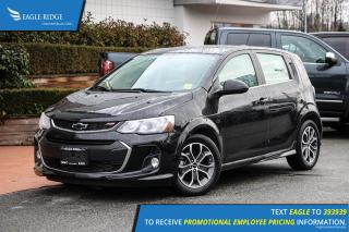Used 2018 Chevrolet Sonic LT Auto Heated Seats & Sunroof for sale in Coquitlam, BC
