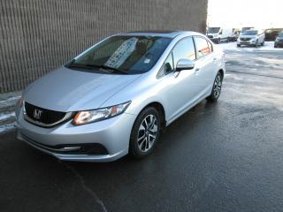 Used 2014 Honda Civic 4 portes boîte manuelle EX for sale in Gatineau, QC