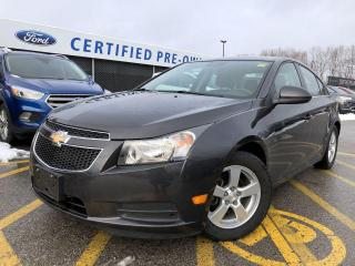 Used 2014 Chevrolet Cruze 2LT LEATHER|HEATED SEATS|BLUETOOTH|KEYLESS ENTRY for sale in Barrie, ON