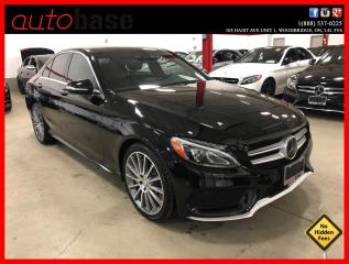 Used 2015 Mercedes-Benz C-Class C400 4MATIC INTELLIGENT DRIVE PREMIUM SPORT for sale in Vaughan, ON