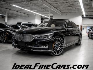 Used 2016 BMW 7 Series Li XDRIVE/EXECUTIVE PACKAGE/WARRATYUPT2023 for sale in Toronto, ON