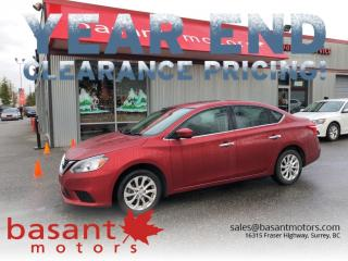 Used 2017 Nissan Sentra SV, Sunroof, Heated Seats, Backup Cam!! for sale in Surrey, BC