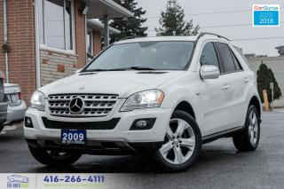 Used 2009 Mercedes-Benz ML-Class 1 OWNER DIESEL NAVI GPS REARCAM CERTIFIED SERVICED for sale in Bolton, ON