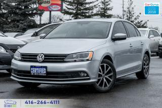 Used 2015 Volkswagen Jetta TDI SUNROOF ALLOYS REARCAM ACCIDENT FREE CERTIFIED for sale in Bolton, ON