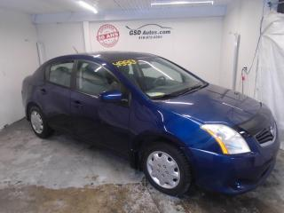Used 2010 Nissan Sentra 2.0 S for sale in Ancienne Lorette, QC