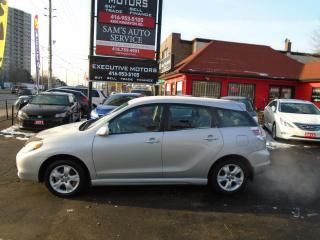 Used 2005 Toyota Matrix XR/ MANUAL / XR / LOADED/ PWR GROUP/ ALLOYS / MINT for sale in Scarborough, ON