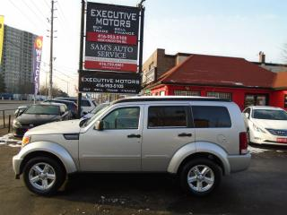Used 2008 Dodge Nitro SE/ WINTER TIRE AND RIM PACKAGE INCLUDED / 4X4 / for sale in Scarborough, ON