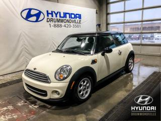 Used 2012 MINI Cooper HARDTOP +GARANTIE + TOIT PANO ! for sale in Drummondville, QC