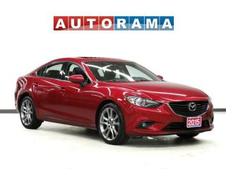 Used 2015 Mazda MAZDA6 GT NAVIGATION LEATHER SUNROOF BACK UP CAMERA for sale in Toronto, ON