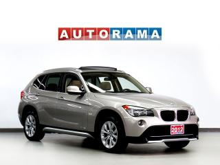 Used 2012 BMW X1 xDrive28i TECH PKG NAVIGATION LEATHER SUROOF AWD for sale in Toronto, ON