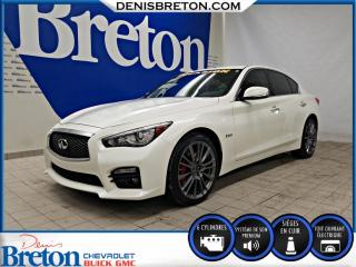 Used 2017 Infiniti Q50 Red Sport 400 AWD for sale in St-Eustache, QC