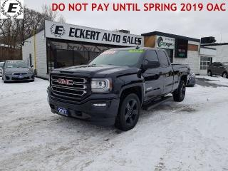 Used 2017 GMC Sierra 1500 ELEVATION, 5.3L, LOW KMS 4X4 for sale in Barrie, ON