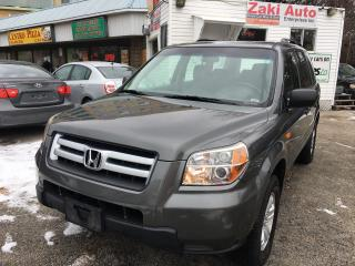 Used 2007 Honda Pilot LX/Safety And E Test is Included The Price for sale in Toronto, ON